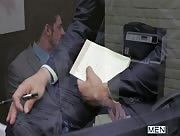The Promotion - Gay Office - Rocco Reed - Andrew Stark & Tommy Defendi