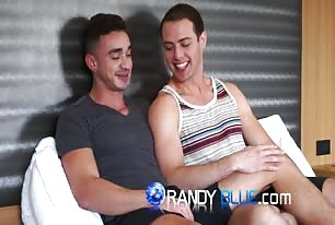 Gay Porn Stars Randy Dixon and Brendan Phillips have a bareback fuck