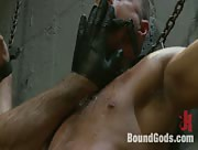 The Most Violent Orgasm in Bound Gods History