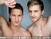 Levi Michaels and Darius Ferdynand Flip-Fuck!
