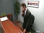 The Office Slut Part 3 - TGO - The Gay Office - Mike De Marko & Connor Maguire