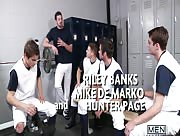 Major League Part 3 - JO - Jizz Orgy - Johnny Rapid - Andrew Stark - Mike De Marko - Riley Banks   - Hunter Page